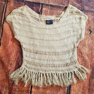 American Eagle knit crop top xs